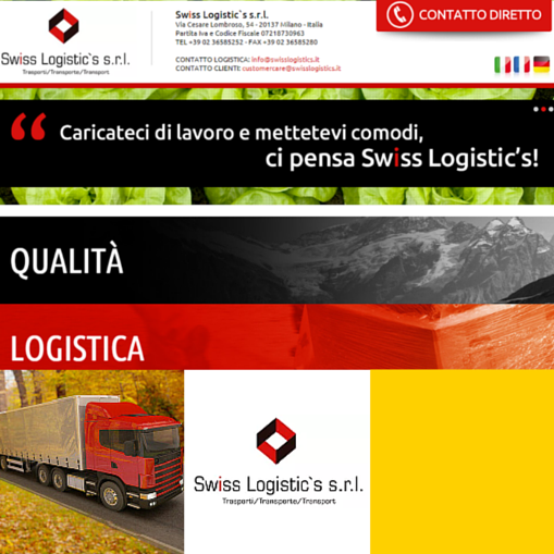 Swiss Logistic's S.r.l.: Export Logistica-Trasporti Internazionali